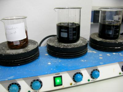 Escarificació química.